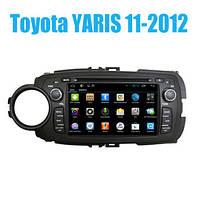 Завод OEM автомобильные gps навигаторы Toyota Yaris 2012