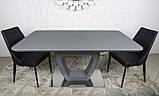 Стол TORONTO 160/210 см графит (бесплатная доставка), фото 8