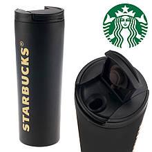 Термокружка старбакс Starbucks 500 мл Черная