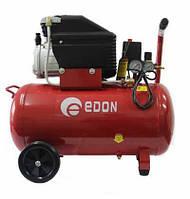 Компрессор Edon AC-OTS50L (50 л, 8 бар, 2 манометра, автоматика)