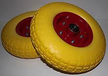 Полиуретановое колесо 4.00-6 для тачки (бескамерка)