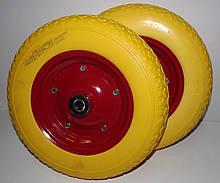 Полиуретановое колесо 3.50-8 для тачки (бескамерка)