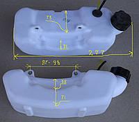 Топливный бак к мотокосе (горловина по центру)