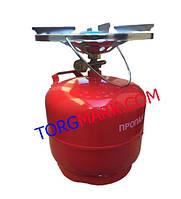 Газовый баллон с горелкой Турист (кемпинг) 5 литров