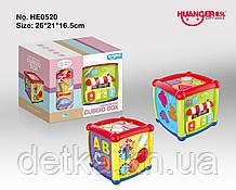 Сортер куб HE0520 муз.світ