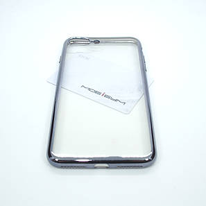 Чехол TPU bamper iPhone 8 Plus/7 Plus grey, фото 2