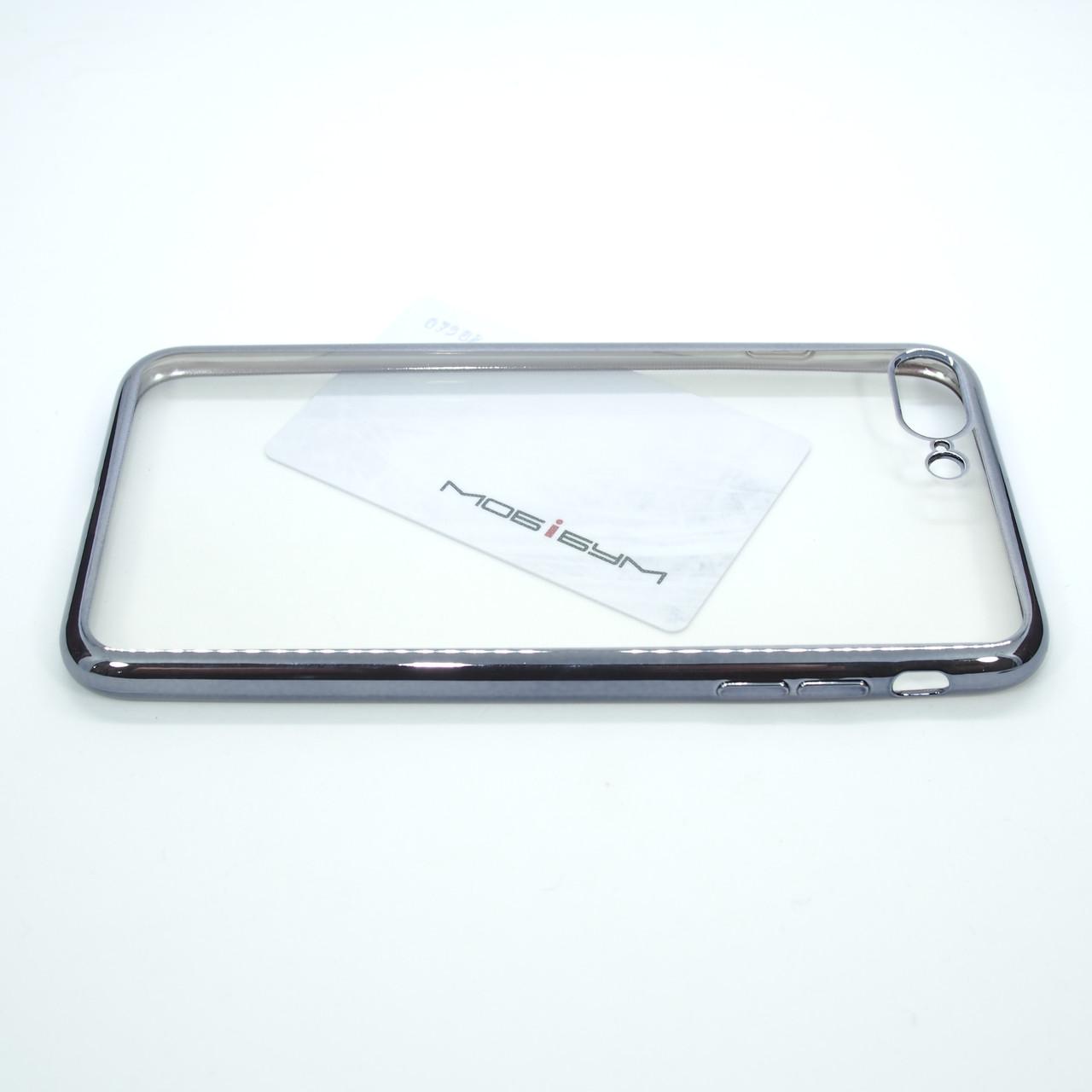 TPU bamper iPhone 8 Plus 7 grey Для телефона Apple Чехол