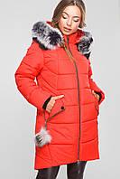 Зимняя куртка -26327-14 красный, 54