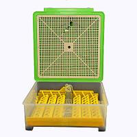 Инкубатор автоматический инвекторный для яиц MS-48/24 510ъ290ъ525 мм Зеленый