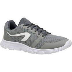 Кроссовки для бега р.45 мужские  Kalenji Run One серого цвета