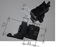 Кнопка на дрель DWT - Ворскла