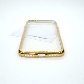 Чехол TPU bamper iPhone 7 gold, фото 2