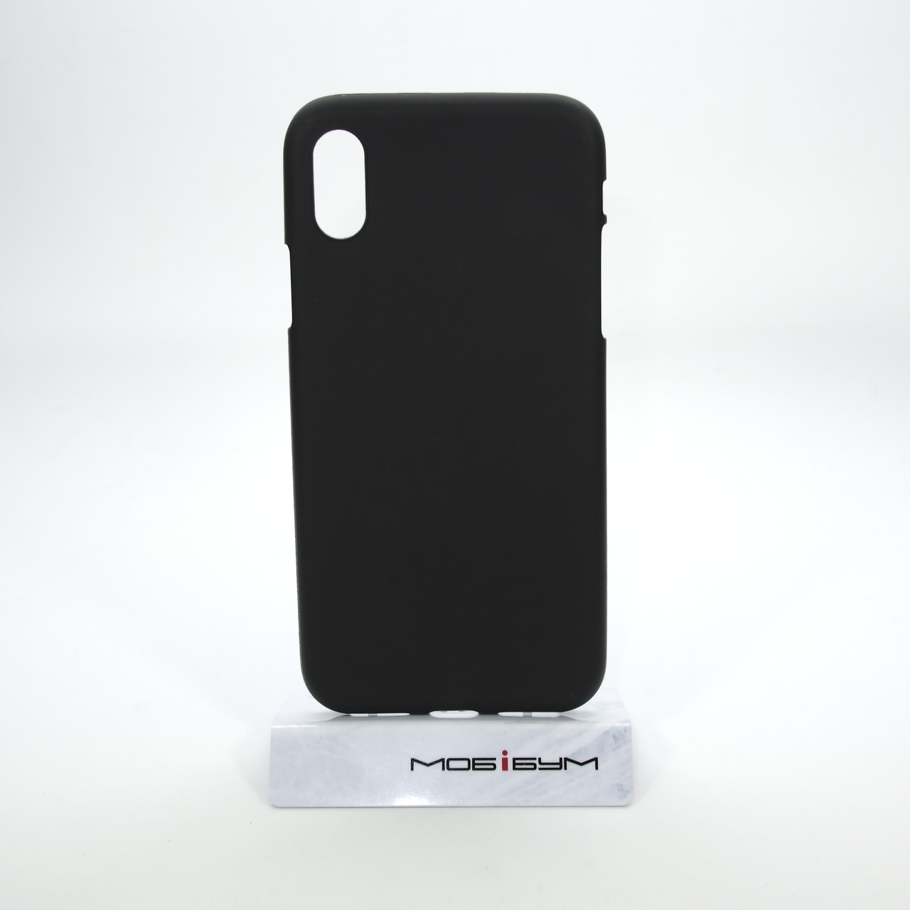 Чехол TPU iPhone X black
