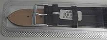Ремінець шкіряний JINA (Китай) чорний 24 мм