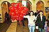 Шары в форме  сердца 26 см