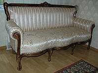 Мягкая мебель из дерева Элит 3, диван барокко