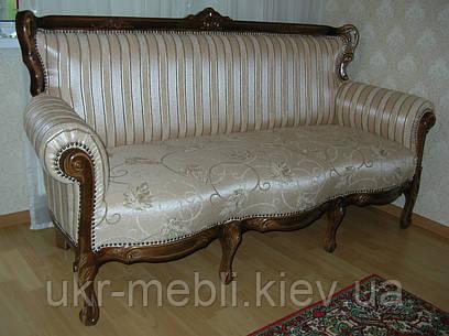 мягкая мебель из дерева элит 3 диван барокко продажа цена в киеве