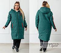 Куртка пальто стеганая женская в расцветках 25964, фото 1