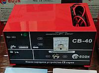 Зарядное устройство для АКБ Edon CB-40 (12 и 24В, ток заряда 40А)