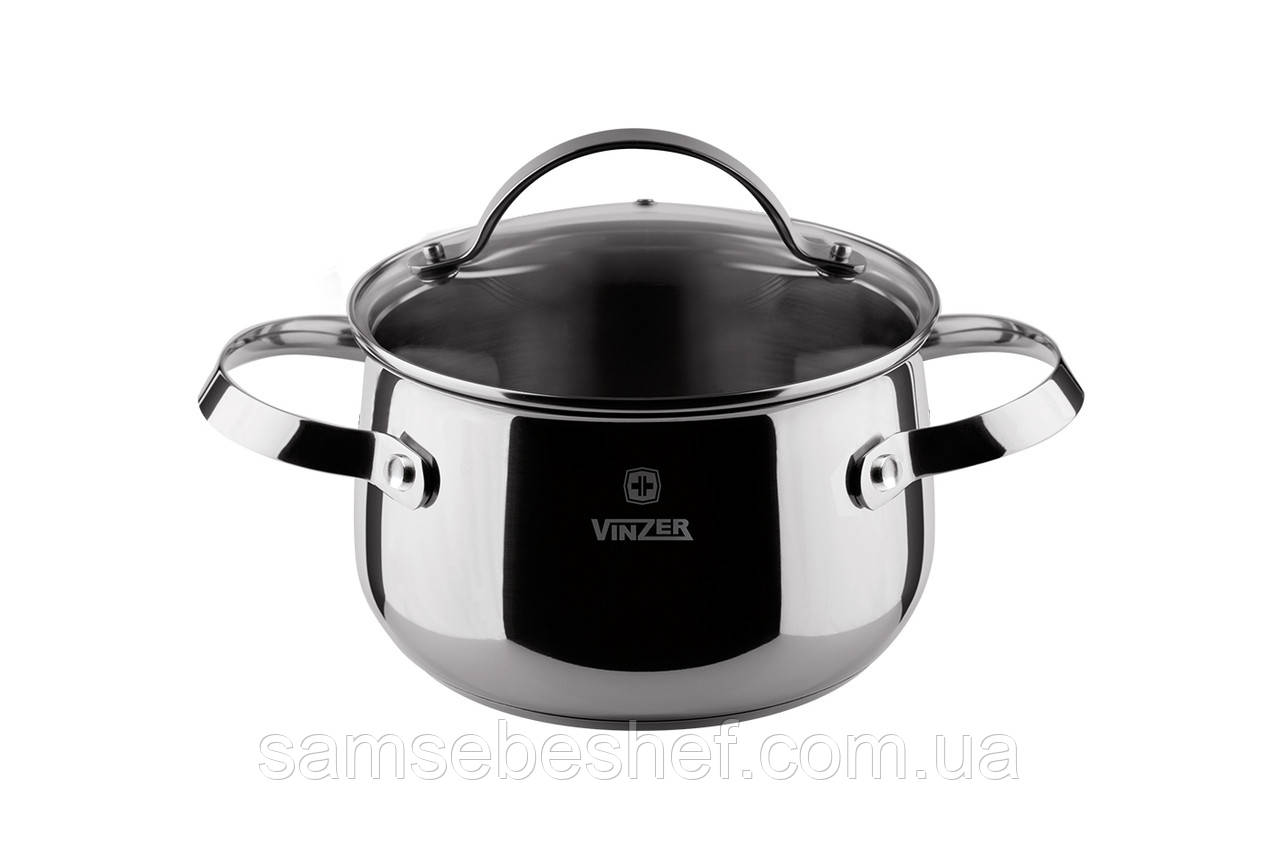 Кастрюля Vinzer Culinaire Series 18 см 2.8 л 89166