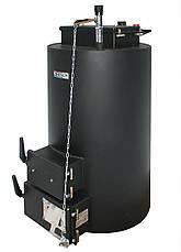Энергия ТТ 10kW От 30 м2 до 100 м2 На угле и дровах, до 5 суток на одной загрузке Работает без электричества, фото 3