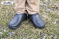 Мужские галоши черные (Код: ГП-11), фото 1