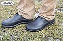 Мужские галоши черные (Код: ГП-11), фото 4