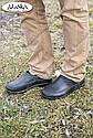 Мужские галоши черные (Код: ГП-11), фото 6