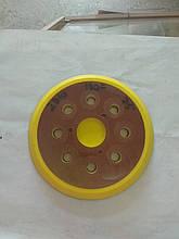Подошва эксцентриковой шлифмашинки 3 винта, 124 мм