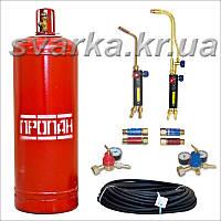 Комплект газосварщика № 1П для пропано-кислородной резки и пайки