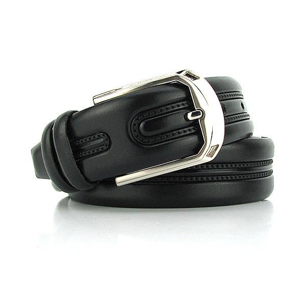 Ремень классический кожаный мужской под брюки Bond 1069 Турция