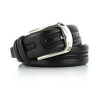 Ремень классический кожаный мужской под брюки Bond 1069 Турция, фото 1