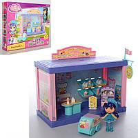 Домик для куклы Метр + 60322AB с куклой и аксессуарами