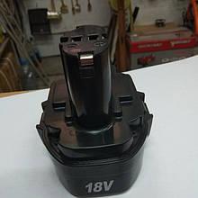 Аккумулятор (батарея) на шуруповерт 18 В (Ni-Cd)