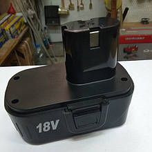 Аккумулятор (батарея) Ni-Cd на шуруповерт 18 В, 3 контакта