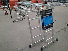 Aluminium 3х4 (без платформы) лестница трансформер до 3.7 метров