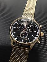 Кварцевые водонепроницаемые часы Hugo Boss Companion Chronograph Gents Mesh Watch 1513548, фото 1