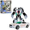 Робот-трансформер Bambi JQ6107 белый спортивная машина в коробке