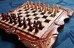 Шахи - нарди - шашки різьблені, фото 3
