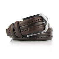 Ремень классический кожаный мужской под брюки Bond 1136 Турция, фото 1