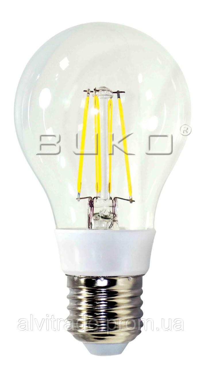 Светодиодная лампа FILAMENT LED WATC WT233 6W E27 5000K 600LM