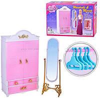 """Детская мебель для кукол Gloria 2313 """"Гардероб"""""""
