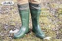 Мужские сапоги зеленые (Код: С-06 охотник), фото 2