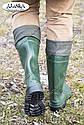 Мужские сапоги зеленые (Код: С-06 охотник), фото 6