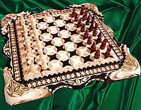 Шахматы - нарды - шашки ручной работы