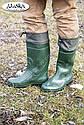 Мужские сапоги зеленые (Код: С-06 охотник), фото 4
