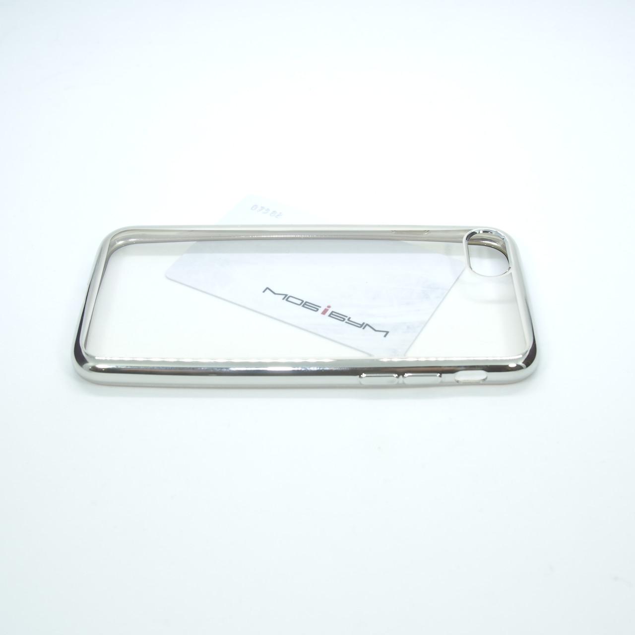 TPU bamper iPhone 7 silver Для телефона Чехол