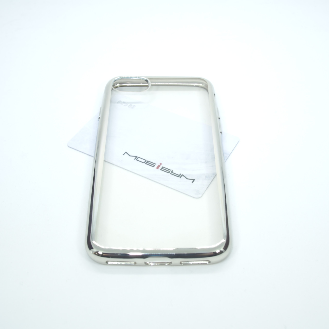 Чехол TPU bamper iPhone 7 silver