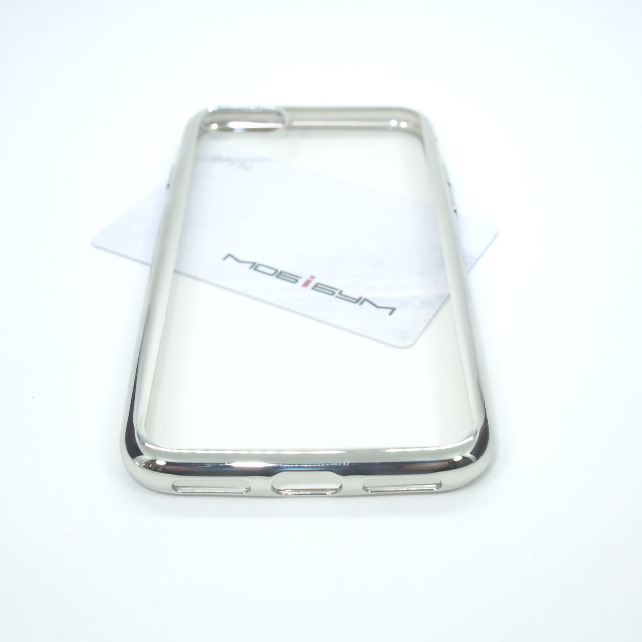 TPU bamper iPhone 7 silver Для телефона