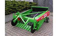 Копатель картофеля и овощей 2-х рядная WEGA 1400/1600 навесная+кардан (Польша)